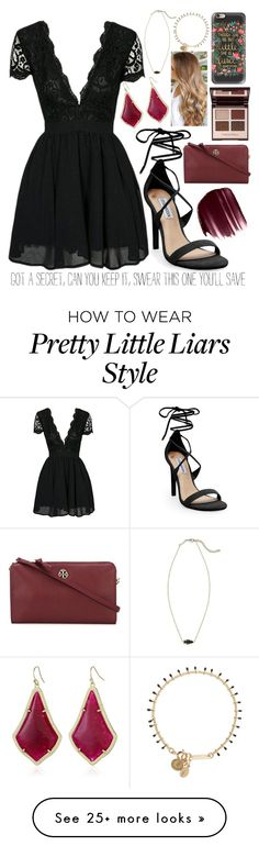 """""""{if I were a liar}...rtd"""" by lilianndevos on Polyvore featuring Kendra Scott, Steve Madden, Urban Decay, Tory Burch, Charlotte Tilbury, Isabel Marant and Casetify"""