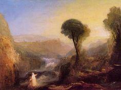 Turner, Joseph Mallord William: Tivoli: Tobias und der Engel (Tivoli: Tobias and the Angel)
