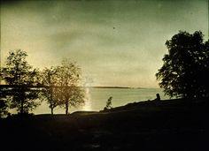 Tor Ekström - Solnedgång, 1934