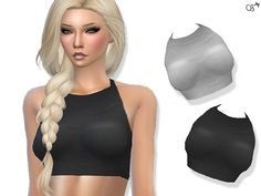 Detailed High-neck top for female sims. Custom thumbnail, five variations.  Found in TSR Category 'Sims 4 Female Everyday'
