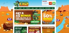 Crocodile Bingo is one of the newest Cassava bingo sites around, giving you £5…