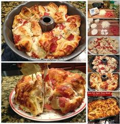 Easy Pull Apart Pizza Bread Recipe | DIY Cozy Home