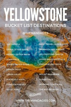 Ready for the best summer ever? We're sharing 20+ amazing things to do in Yellowstone, including the main attractions, hidden spots + wildlife viewings! Yellowstone Nationalpark, Visit Yellowstone, Yellowstone Vacation, Yellowstone Park, Places To See, Places To Travel, Travel Destinations, Travel Things, Lamar Valley