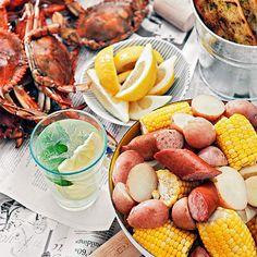 Maryland Blue Crab Boil