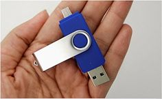 OTG USB Flash Drive for Cell PhonesTablets and PCs512GB BLUE Flash Drive Memory Drive Memory Stick Thumb Drive Pen *** Be sure to check out this awesome product.