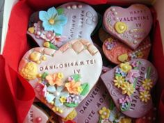 Gingerbread hearts - valentine