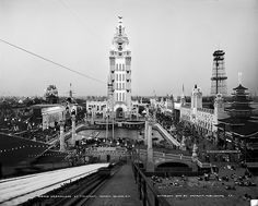 Dreamland amusement park in Coney Island, in the New York borough of Brooklyn, ca. 1905. Dreamland burned down in 1911. (AP Photo/Library of Congress)