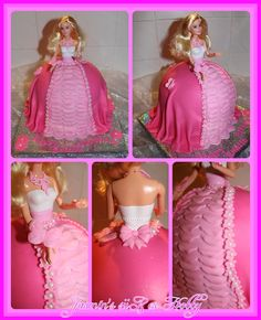 Meine erste Barbie Torte für die kleine Emilia <3