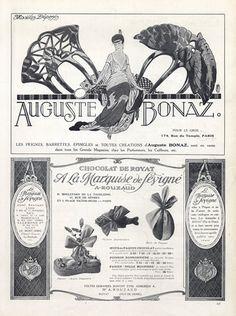 Auguste Bonaz (Combs) 1919 Marcel Fromenti, Art Nouveau Style