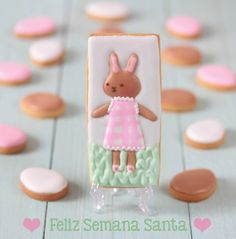 Galleta decorada de Pascua