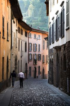 Bergamo, Italy-- Oh how I miss this place