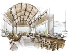 Resort sketch 1 #pangpangworks #interiordesign #inkcolour #thesis#iarchitectures#archilovers#arqsketch#arquitetapage#superarchitects#arch_sketch#arch_more#papodearquiteto#arquisemteta#archi_students#sketch_arq#archisketcher#handrendering#rendering