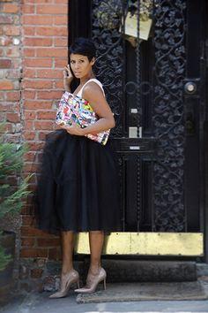 @bgasibyk Life in a Tulle Skirt #streetstyle