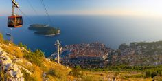 Dubrovnik's cable car, Dubrovnik, Croatia