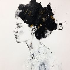 aphrodite @doutzen #doutzenkroes #instaart #inspiration #illustration #imperfect #drawing #pencil #painting #artes #artwork #avantgarde #skin ##drawing #texture #karnkarnillustration#イラスト#ファッションイラスト#ファッション