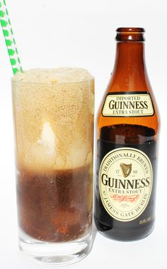 Guinness Float (makes 1)    -3 scoops vanilla ice cream  -1 pint Guinness stout beer    Add ice cream to a glass, top with Guinness and (try to) enjoy!