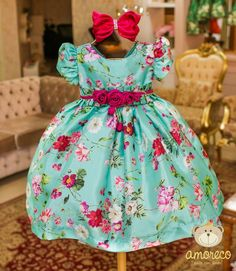 Little Dresses, Little Girl Dresses, Girls Dresses, Fashion Kids, Trendy Outfits, Kids Outfits, Kids Blouse Designs, Kids Frocks, Cute Baby Girl