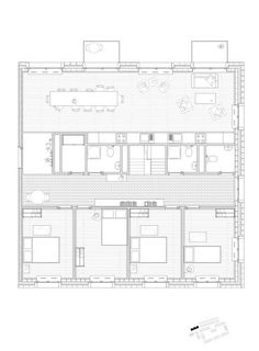 ETH Zürich - Prof. A. Caruso :: Archive :: Student Projects Architecture Student, Architecture Drawings, Architecture Plan, New House Plans, House Floor Plans, Architect Drawing, Student House, Plan Drawing, London House