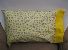 Sleepy Time Pillowcase  Toddlers/Travel and Standard by bubblenbee