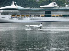 Boat or Plane Anyone?, by T Julian Holder 2009; Alaska