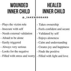 If you look at most people (not from judgment but coming from a place of compassion and understanding) and relate them to a child you will… Mental And Emotional Health, Mental Health Awareness, Trauma, Ptsd, Inner Child Healing, Info Board, Holistic Healing, Self Improvement, Self Help