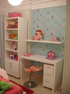 quarto menina rosa 5 anos - Pesquisa Google Twin Girl Bedrooms, Girls Bedroom, Teen Room Decor, Bedroom Decor, Girl Bedroom Designs, Home Room Design, Kids Study Desk, Girl Room, Home Decor