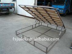 lift storage bed | LIFT-UP STORAGE BED BASE