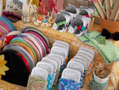 Great Merchandising on product. Renegade Craft Fair by giant dwarf, via Flickr