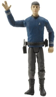 Star Trek: TOS Spock in Enterprise Outfit
