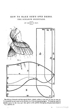 Peterson's magazine 1855-- Echarpe Orientale also, a blog post about it http://www.victorianpassage.com/2010/04/how_to_make_ones_own_dress_-_t.php