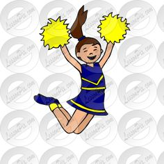 19 Best Cheerleading images | Cheerleading, Clip art ...
