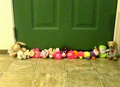 Repurpose Stuffed Toys into a Draft Stopper
