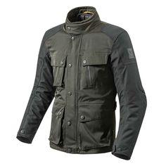 REV'IT Jackson Jacket - Green / Black | REV'IT Motorcycle Jackets | FREE UK delivery - The Cafe Racer  £229.99
