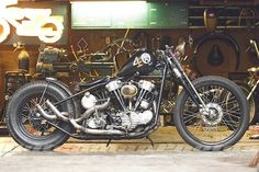 Bobber Inspiration | Knucklehead | Bobbers and Custom Motorcycles | captain-fins June 2014