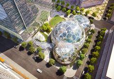 Tech Bubbles: Amazon's Urban Biospheres