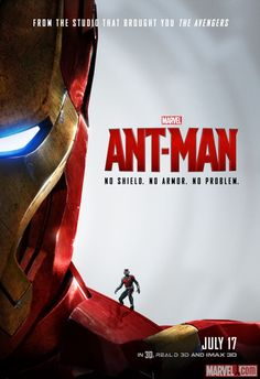 No armor? No problem. Marvel's next big thing: #AntMan, in theaters July 17.