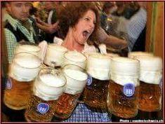 Beer Humor, Glass Of Milk, Mugs, Tableware, Birthday Beer, Food, Redheads, Ale, Brunettes