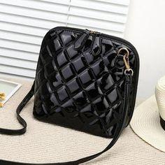 Female Lovely Lobster PU Leather Cross-body Shoulder Messenger Bag Handbag Jian