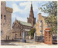 Glasgow Cathedral - Portraits of Britain