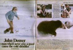 Seen on eBay: John Denver featured in TV Times magazine, December 1979.