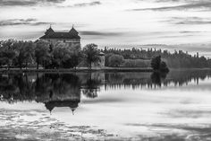 Buy Castle in Black and White by Teemu Tretjakov as a matted print, mounted print, canvas print, framed print, or art prints
