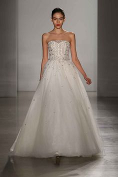 """""""Carrington"""" by Amsale Article: Discover Classic, Chic Bridal Gowns by Amsale Fall 2016 Photography: Courtesy of Amsale Read More: http://www.insideweddings.com/news/fashion/discover-classic-chic-bridal-gowns-by-amsale-fall-2016/2522/"""