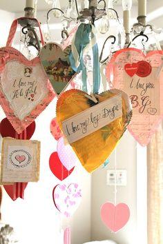 beautiful Valentine's crafts by Pam Garrison