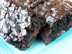 I do not love chocolate. But I do love brownies! Fudgy, chewy, preferably warm-out-of-the-oven brownies. Weird? Yes. But I'm OK with that. These brownies are especially good, almost as easy as a...