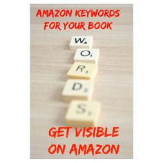 create Amazon keywords for your book by corneliaamiri