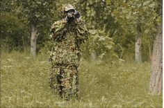 39.99$  Watch now - http://alivap.shopchina.info/go.php?t=32803341232 - Hunting Clothes New 3D Maple Leaf Bionic Ghillie Suits Sniper Birdwatch Airsoft Camouflage Clothing Jacket And Pants 39.99$ #SHOPPING
