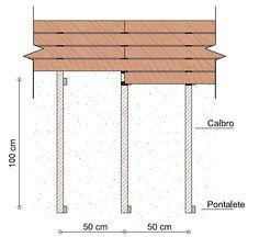 deck de madeira estrutura - Pesquisa Google
