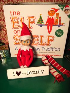 Who's to say your Elf can't drop by for a quick visit to delight your kids and express his love for the day.  Valentine's Day Elf on the Shelf.