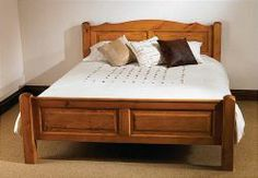 """Mottisfont Painted Bed 4'6"""" gives you a premium space and peaceful when you take rest or asleep. Our furniture is available in a cheapest price. More details: http://solidwoodfurniture.co/product-details-pine-furnitures-3359-mottisfont-painted-bed-.html"""