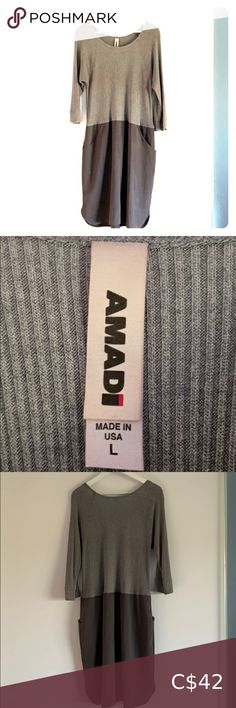 Amadi (Anthropologie) dress w pockets Amadi (Anthropologie) dress with pockets Multi texture Lined skirt Made in USA Anthropologie Dresses Midi Plus Fashion, Fashion Tips, Fashion Trends, Anthropologie Dresses, Gray Color, Pockets, Texture, Usa, Skirts